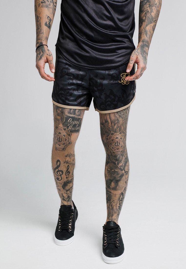 SIKSILK - RUNNER TAPE - Shorts - black/gold