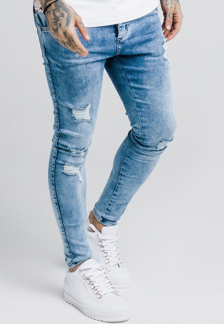 SIKSILK - ULTRA DENIMS - Jeans Skinny Fit - light blue