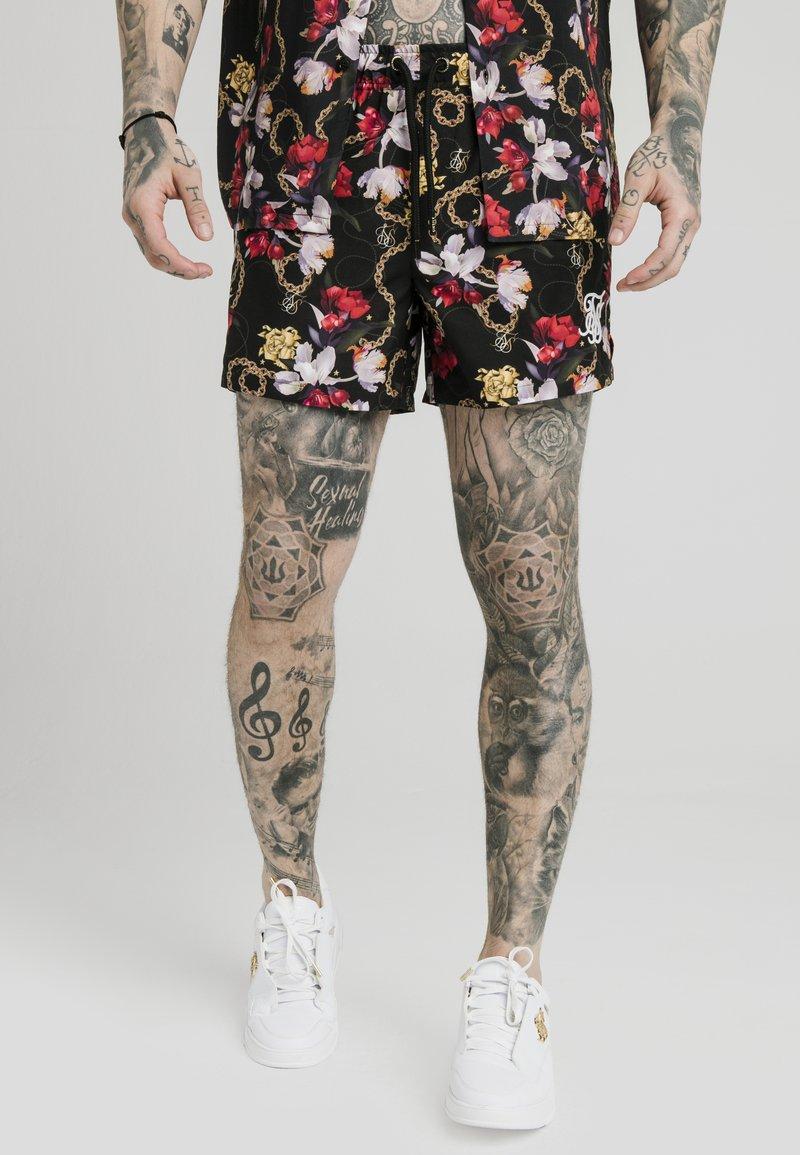 SIKSILK - STARLITE - Pantalon de survêtement - black
