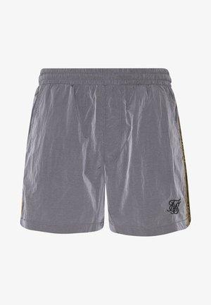 CRUSHED TAPE - Shorts - grey & gold