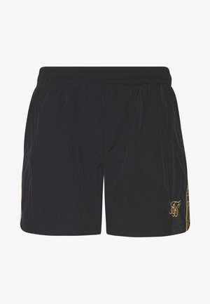 CRUSHED TAPE - Short - black/gold