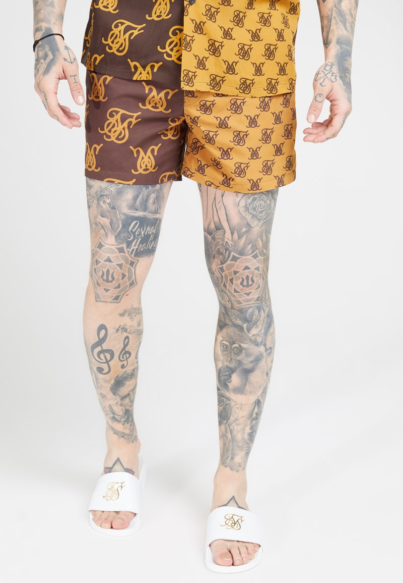 SIKSILK - STANDARD - Shorts - tan/brown