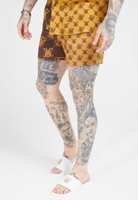 SIKSILK - STANDARD - Shorts - tan/brown - 4