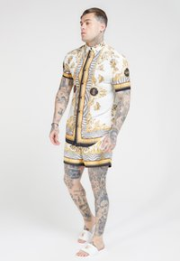 SIKSILK - STANDARD - Shorts - ocean off white - 1