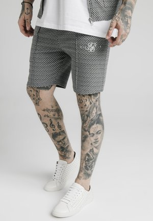 Shorts - black  white dogtooth