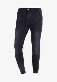 SIKSILK - Jeans slim fit - washed black - 4