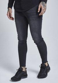 SIKSILK - Jeans slim fit - washed black - 3