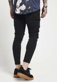 SIKSILK - DISTRESSED SUPER - Jeans Skinny Fit - black - 2