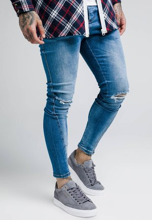 KNEE BURST TWISTED  - Jeans Skinny Fit - midstone