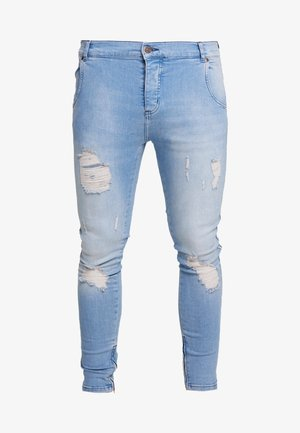 Jeans Skinny - washed blue