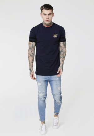 Jeans Skinny - washed blue