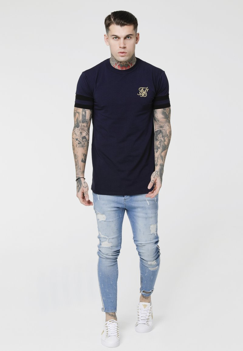 SIKSILK - Jeans Skinny Fit - washed blue
