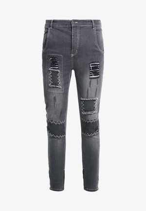 PATCH - Jeans Skinny - washed black