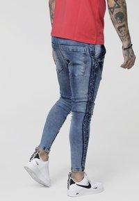 SIKSILK - LOW RISE CARTEL - Skinny džíny - midstone blue - 2