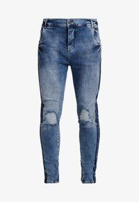 SIKSILK - LOW RISE CARTEL - Skinny džíny - midstone blue - 3