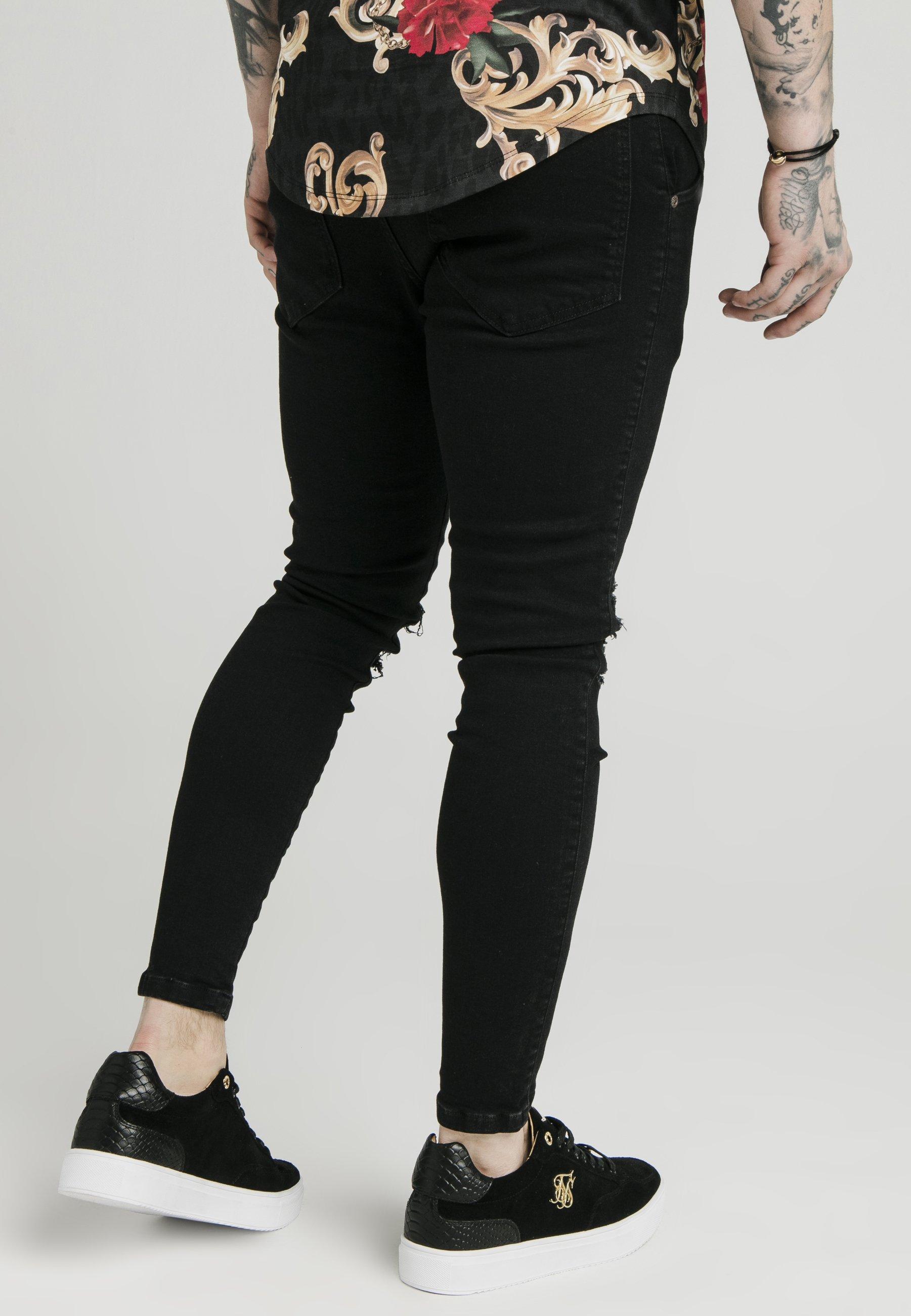 Siksilk Skinny AlvesJeans Dani AlvesJeans Skinny Black Black Siksilk Dani WH9ED2I