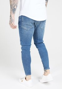SIKSILK - Jeans Tapered Fit - midstone blue - 4