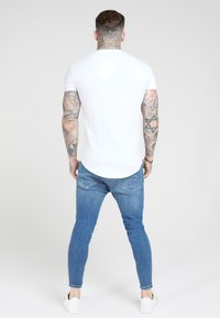 SIKSILK - Jeans Tapered Fit - midstone blue - 2