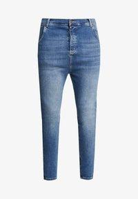 SIKSILK - Pantaloni - midstone blue - 4