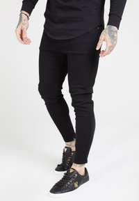 SIKSILK - Jeans Tapered Fit - black - 0