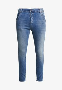 SIKSILK - Jean slim - midstone blue - 3