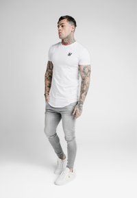 SIKSILK - Jeans Skinny - washed grey - 1