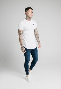 SIKSILK - SKINNY  - Jeans Tapered Fit - indigo - 1