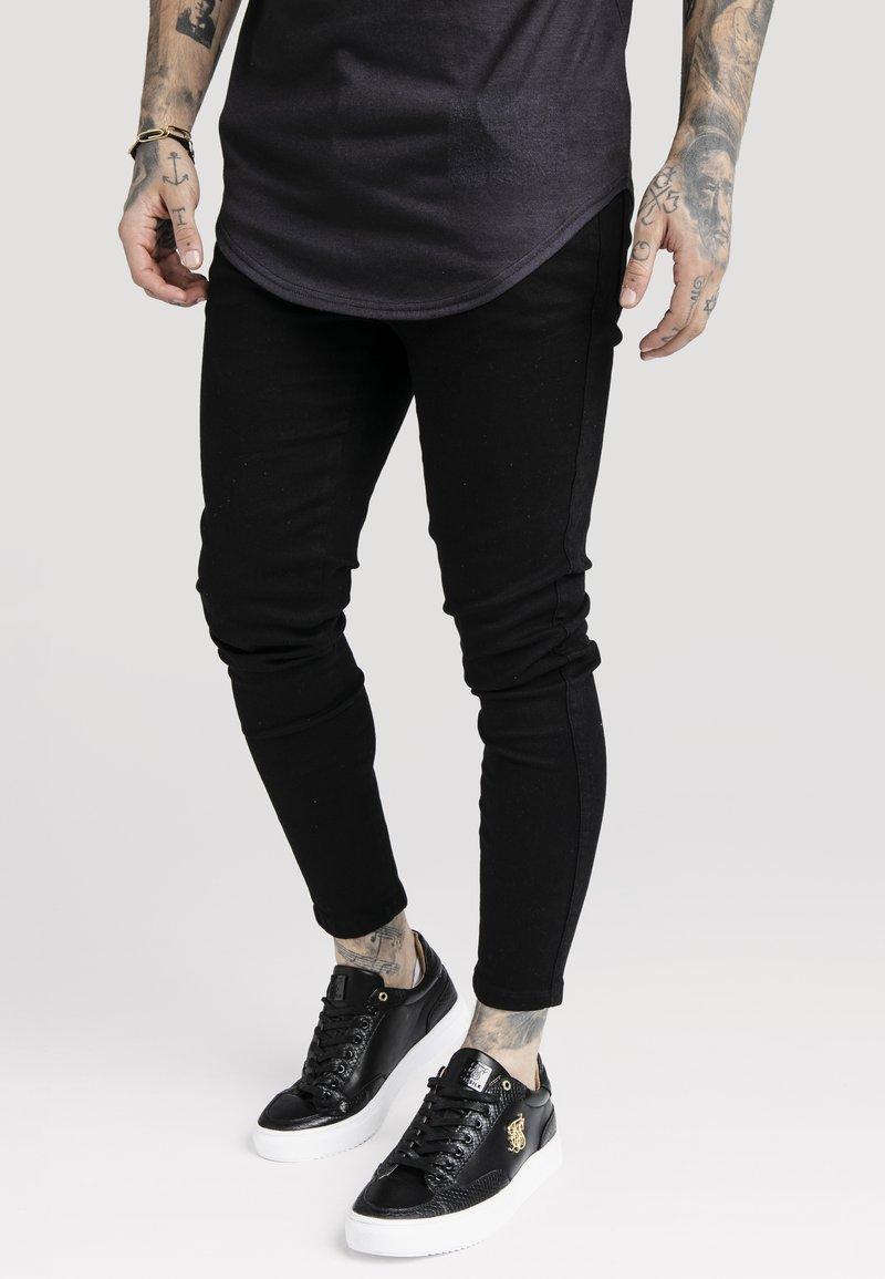 SIKSILK - NON RIP - Jeans Skinny - black