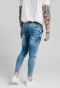 SIKSILK - ELASTICATED WAIST DISTRESSED - Jeans Skinny Fit - midstone blue - 2