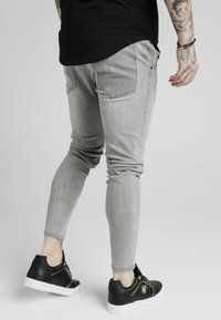 SIKSILK - PATCHWORK - Jeans Skinny Fit - washed grey - 2