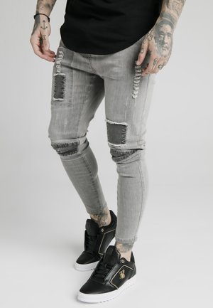 PATCHWORK - Jeans Skinny Fit - washed grey