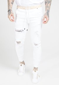 SIKSILK - DISTRESSED - Jeans Skinny Fit - white - 0