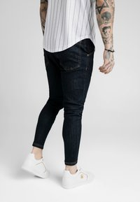 SIKSILK - Skinny džíny - raw indigo - 4