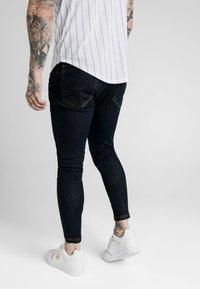 SIKSILK - Skinny džíny - raw indigo - 2