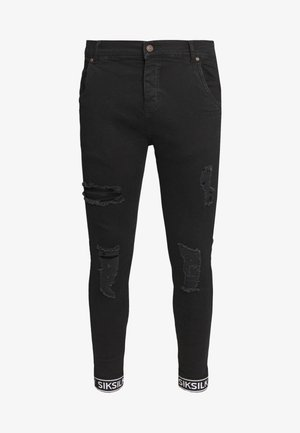 X DANI ALVES TECH CUFF  - Jeans Skinny Fit - black
