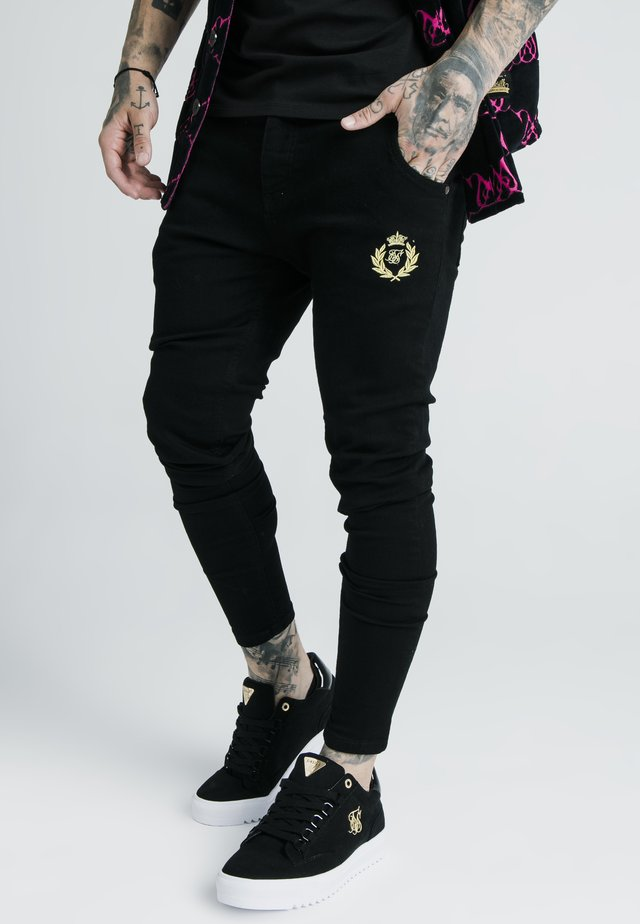 X DANI ALVES PRESTIGE - Slim fit jeans - black