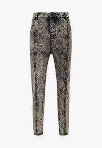 SIKSILK - PLEATED DROP CROTCH - Jeans Skinny Fit - snow wash - 3