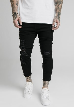 ULTRA DROP CROTCH - Jeans Skinny Fit - black