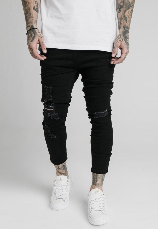 ULTRA DROP CROTCH - Jeans Skinny Fit - black