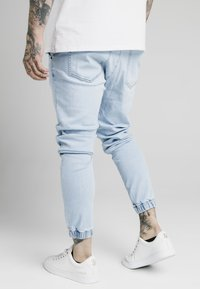 SIKSILK - CUFFED - Jeans Tapered Fit - light blue - 2