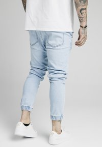 SIKSILK - CUFFED - Jeans Tapered Fit - light blue - 4