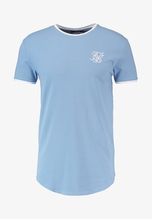 HERITAGE GYM TEE - T-shirt med print - faded denim