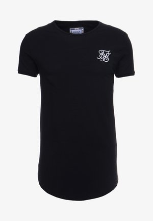 SHORT SLEEVE GYM TEE - Jednoduché triko - black