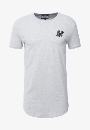 GYM TEE - T-shirts - snow marl