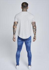 SIKSILK - GYM TEE - T-shirt basic - snow marl - 2