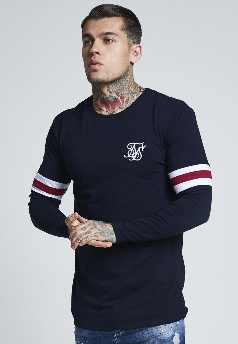 SIKSILK - TOURNAMENT LONG SLEEVE - T-shirt à manches longues - navy