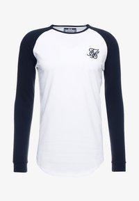SIKSILK - RAGLAN LONG SLEEVE - T-shirt à manches longues - black/white - 3