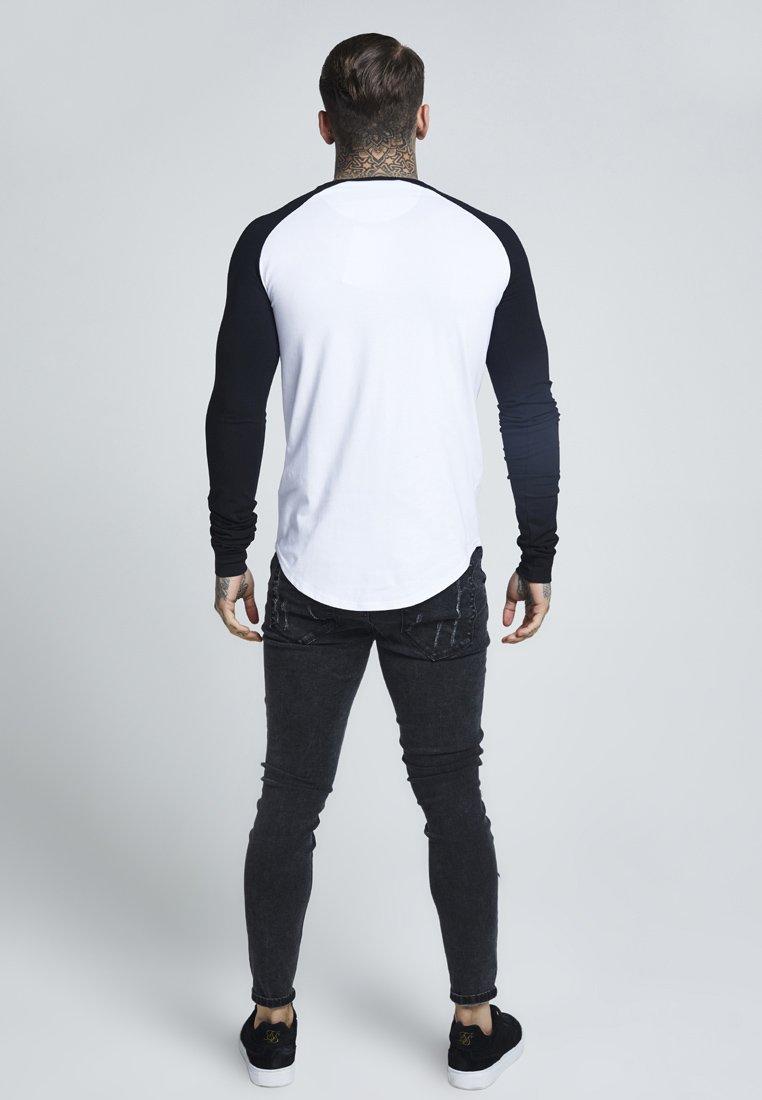 Siksilk Raglan Long Sleeve - Långärmad Tröja Black/white