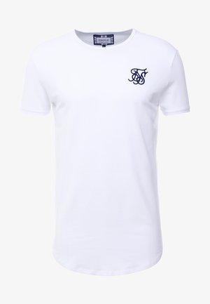 SHORT SLEEVE GYM TEE - T-shirt basic - white
