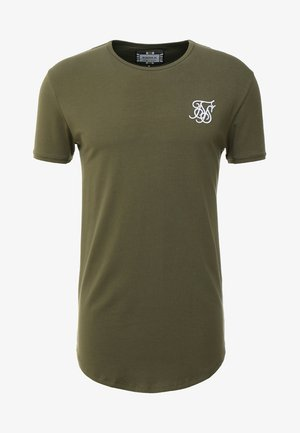 SHORT SLEEVE GYM TEE - Basic T-shirt - khaki